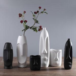 Chinese Vase Modern Ceramic Porcelain Vases Decor Modern Abstract