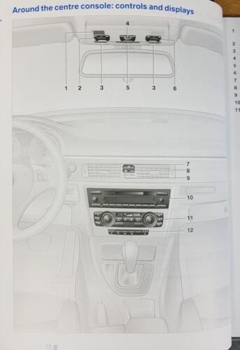 GENUINE BMW 3 SALOON E90 TOURING E91 HANDBOOK MANUAL WALLET 2008-2012 PACK L-320