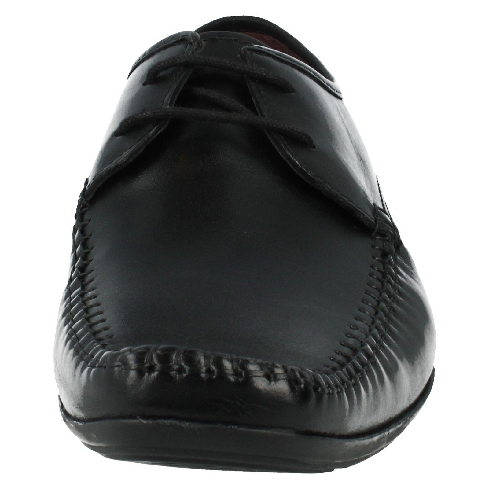 Da Uomo Clarks Nero Pelle Stringati Scarpe Scarpe Scarpe G dimensioni raccordo 10 FERRO Passeggiata 8e3915