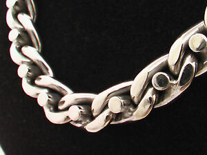Taxco-Mexico-925-Sterling-Silver-Chain-Necklaces-22-2-034-24-2-034-215g-227g