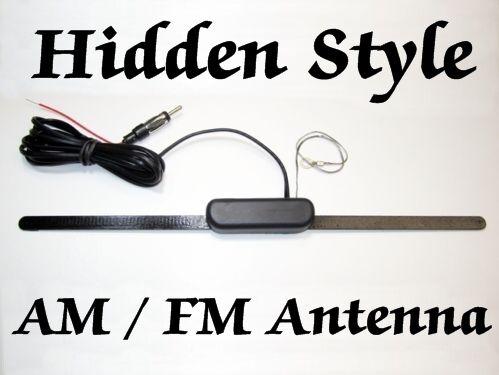 MARINE HIDDEN STYLE AM FM AMPLIFYED ANTENNA, BRAND NEW + How Too Install