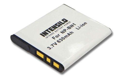 Cámara Batería 630mAh para Sony Cybershot DSC-W810 DSC-W830