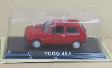 "DIE CAST "" YUGO 45A "" LEGENDARY CARS SCALA 1/43"