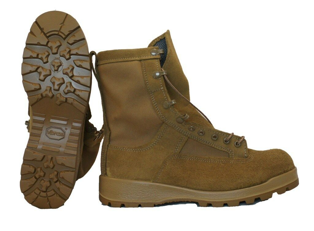 Bates Military Goretex Flight & Combat Boot Coyote E30800D Irregulars Genuine