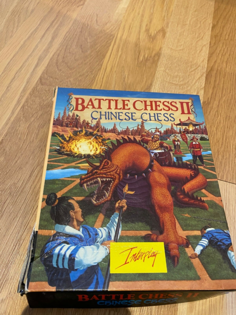 Battle Chess 2 - Amiga, Amiga, Spil. Komplet Battle Chess 2…