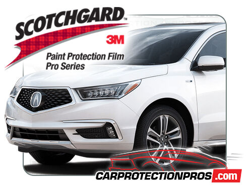 2017-2020 Acura MDX 3M Pro Series Clear Bra Standard Paint Protection Kit