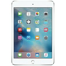 New Apple iPad Mini 4 32GB Wi-Fi + 4G Cellular Unlocked 7.9in Tablet - Silver