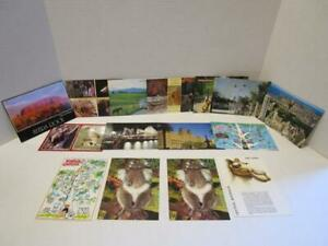 UNPOSTED-Mixed-Lot-of-15-Australia-amp-New-Zealand-Postcards