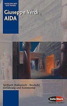 Aida: Einführung und Kommentar. Textbuch/Libretto.: Text... | Buch | Zustand gut