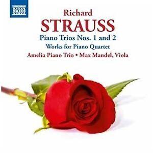 Amelia-Trio-R-Strauss-Piano-Trios-Nos-1-And-2-Works-For-Piano-Quartet-CD