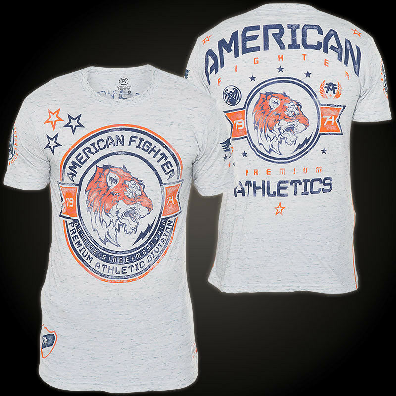 AMERICAN FIGHTER Affliction T-Shirt Louisville Hellblue T-Shirts