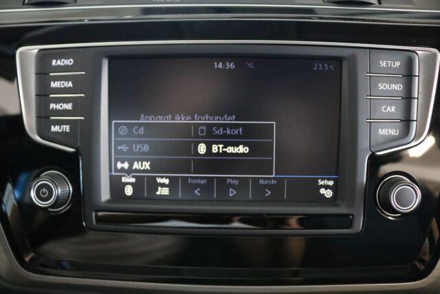 VW Touran 1,4 TSi 150 Comfortline 7prs