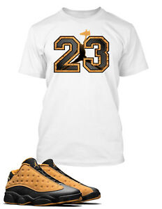 83d82fec9fb750 23 Graphic Tee Shirt to Match AIR JORDAN 13 LOW CHUTNEY Shoe Big and ...