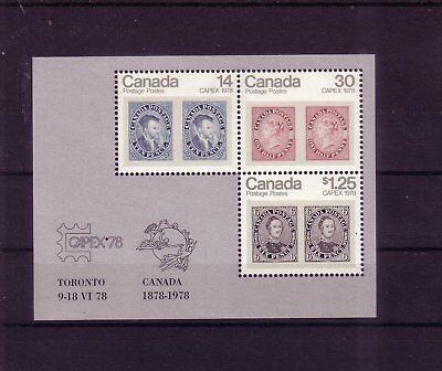 Briefmarken übersee:10010 Kanada Michelnummer Block 1 Postfrisch