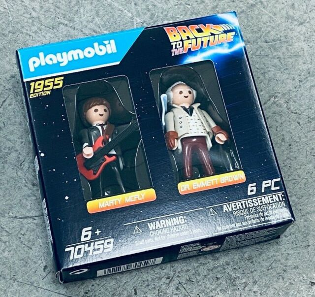 PLM70459: PLAYMOBIL 70459 Back to the Future Marty McFly & Doc 2 pack