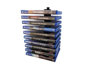 Floating Ps4 Game Blu Ray Modular Wall Mount Holder Rack Ebay