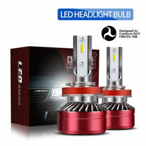 TURBOSII-DOT-12000LM-60W-H11-H9-H8-LED-Headlight-Bulbs-CSP-6000K-White-Lamp-DTB