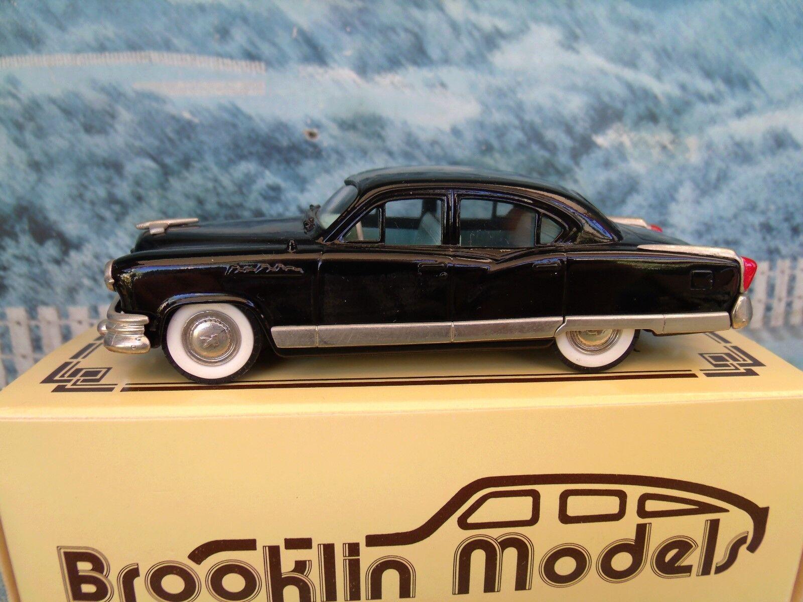 nueva marca 1 43 Brooklin Brooklin Brooklin modelos BRK 29x 1953 Kaiser Manhattan rojoterdam Deluxe 1 de 500  suministro de productos de calidad
