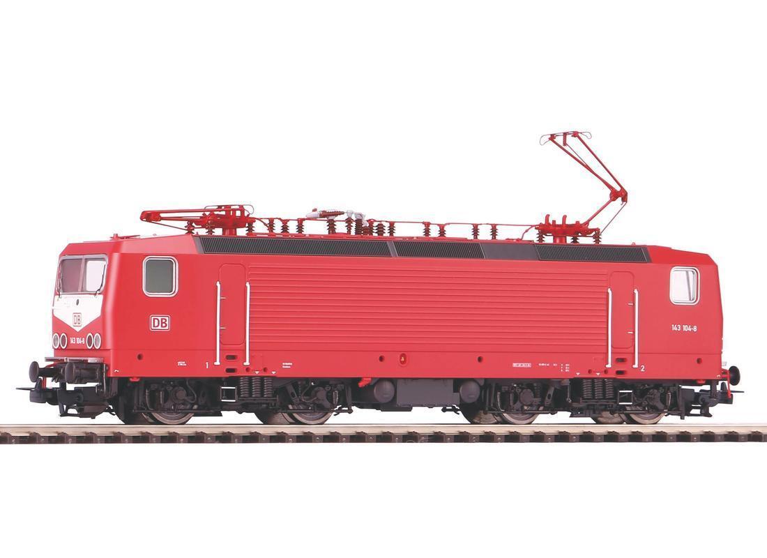 PIKO 51710 elektrolokomotive BR 143 delle DB AG DC NUOVO con OVP