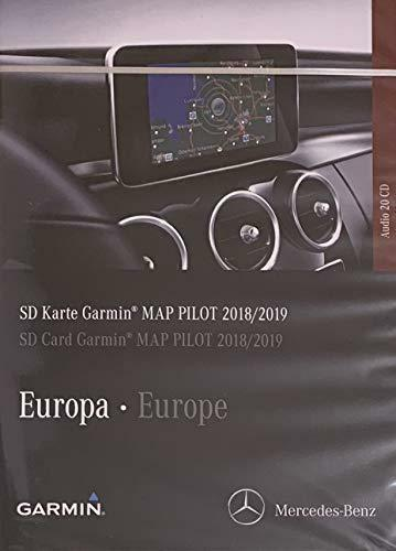 GENUINE MERCEDES GARMIN SAT NAV NAVIGATION SD CARD AUDIO 20 V11 MAPS A2139061307
