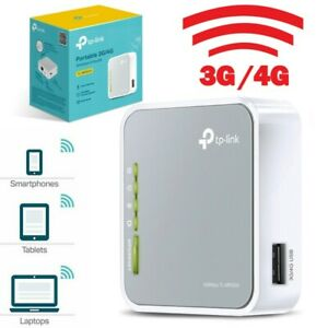 MODEM 3G 4G PORTATILE WIRELESS N ROUTER 300 MBPS INTERNET WIFI TL-MR3030-