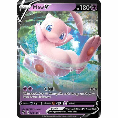 Mew V Ultra Rare NM Darkness Ablaze 069//189 Pokemon TCG