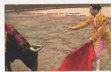 Spain, Corrida De Toros, Muerto del Toro, Le Descabello Postcard, B333
