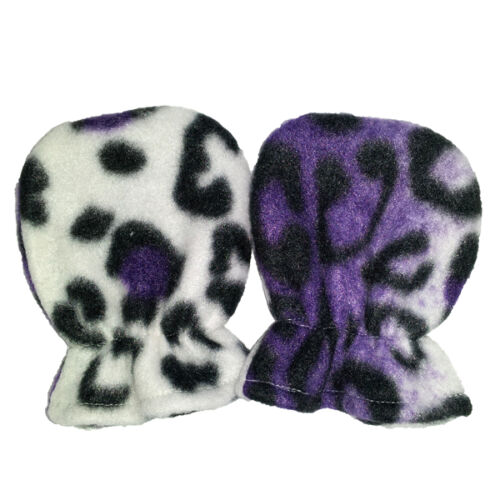 Premium No Scratch Baby Mittens Hand Made in USA Animal Prints