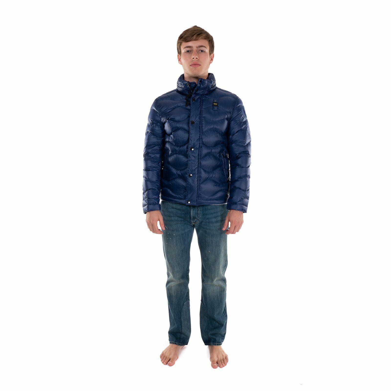Blauer USA PIUMINO Uomo 19BLUC03035 giacca giubbino MILLS inverno/'19