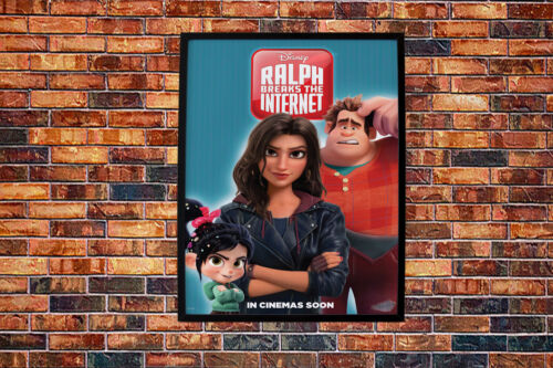 Ralph Breaks the Internet Movie Poster Wall Art Maxi Disney New Film Cinema-1620