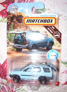 Matchbox 2000 NISSAN XTERRA SUV Moving Parts Series Mattel