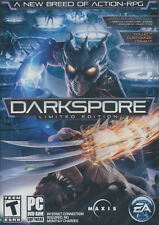 DARKSPORE LIMITED EDITION Dark Spore Combat Action RPG Role Playing PC Game NEW!