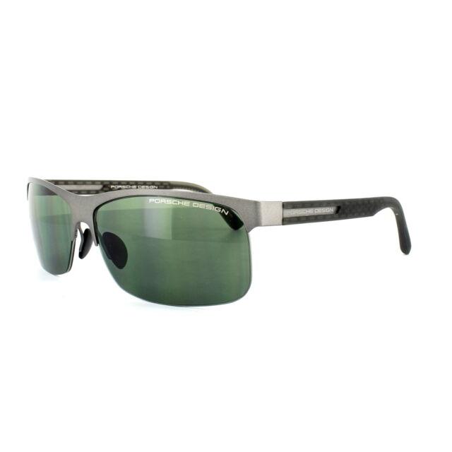 4b1735bae0c4 Porsche Design Sunglasses P8584 a Dark Gunmetal Green for sale ...