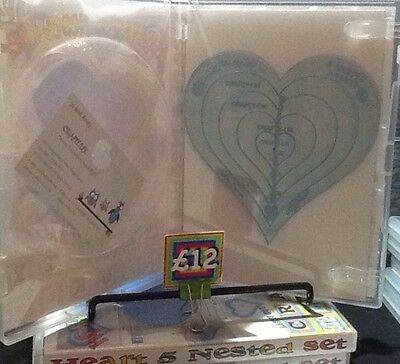 Non-Slip Quilt Ruler Arc Ruler Heart Ruler Patchwork Quilting Template Set  B5U6