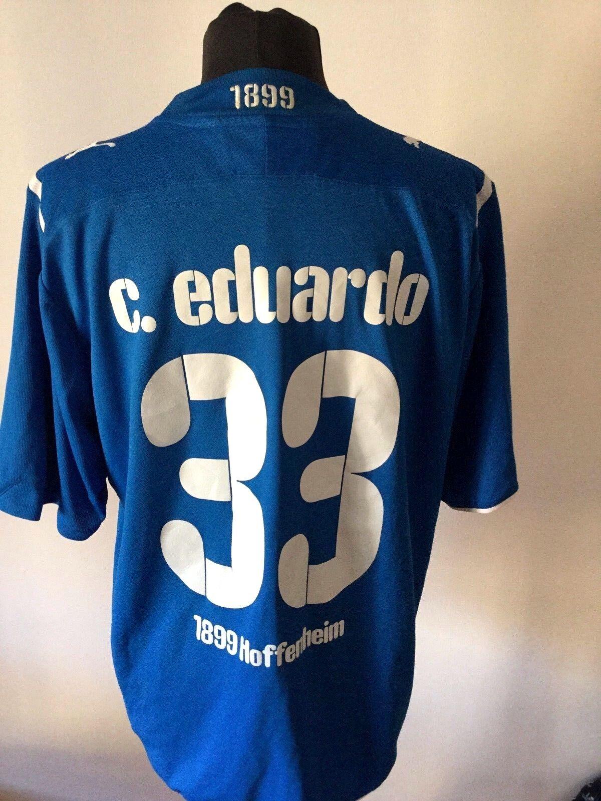 MAGLIA CALCIO PUMA  HOFFENHEIM EDUARDO 33  PUMA 2008 FOOTBALL SHIRT TRIKOT 0167bf