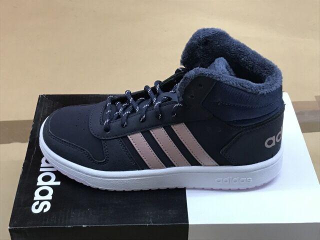 adidas Hoops Mid 2.0 K Bambino Scarpe Blu, EU 32