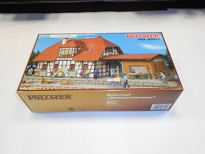 Puntuale Vollmer Traccia H0: 3501 Kit Stazione Ferroviaria Passeri Vivere, Ovp-mostra Il Titolo Originale Ritardare La Senilità