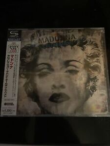 """Madonna """"Celebration"""" Japanese Import Super High Material CD New And Sealed"""