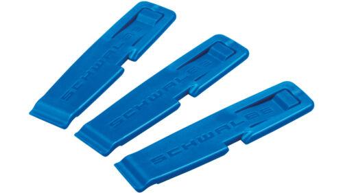 0.370.085//3 Schwalbe Reifenheber 3er Satz blau Reifenmontierhebel