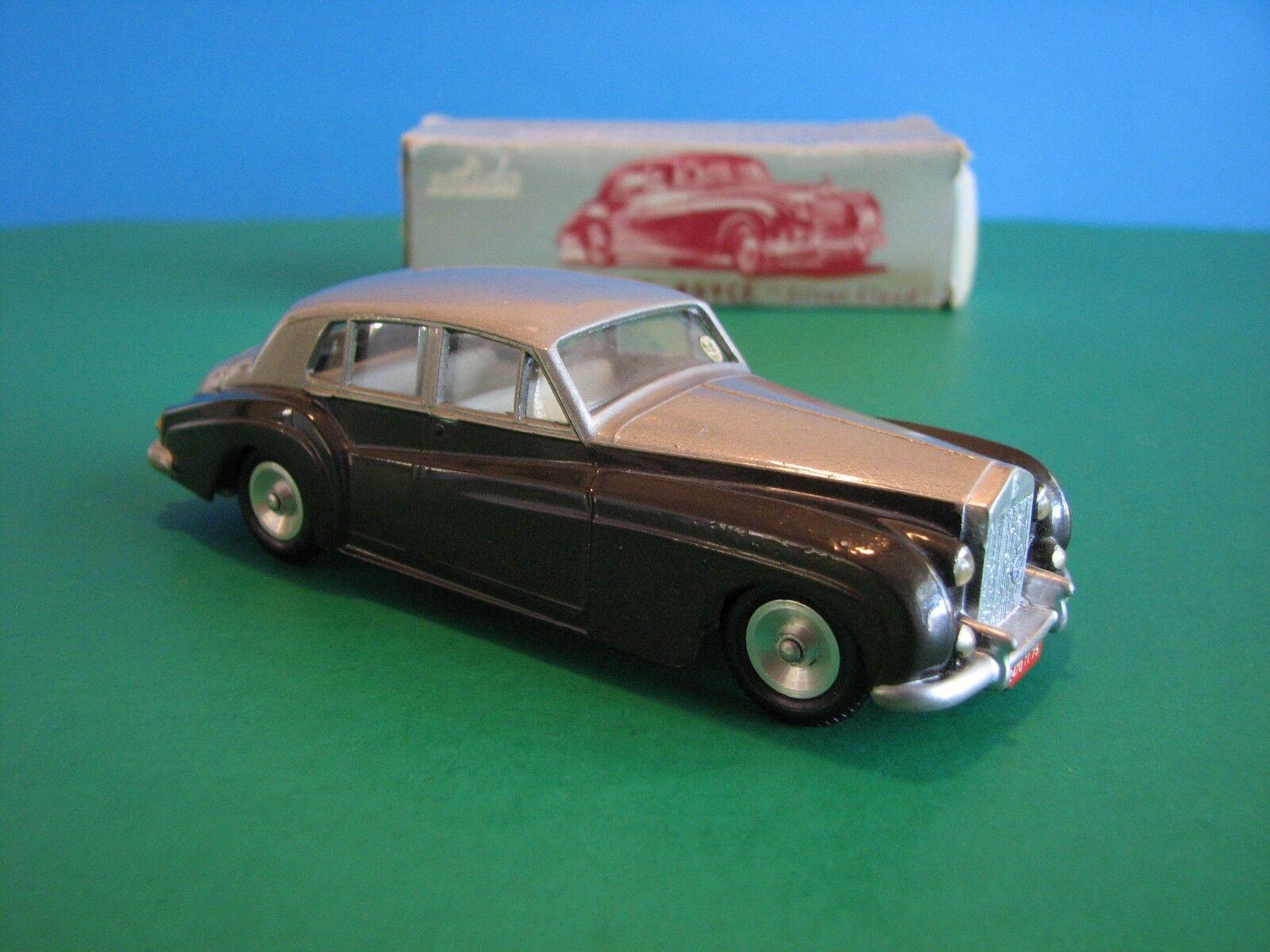 Solido 115, Rolls Royce Plata Nube Con Caja - 1/43 escala Diecast-Francia