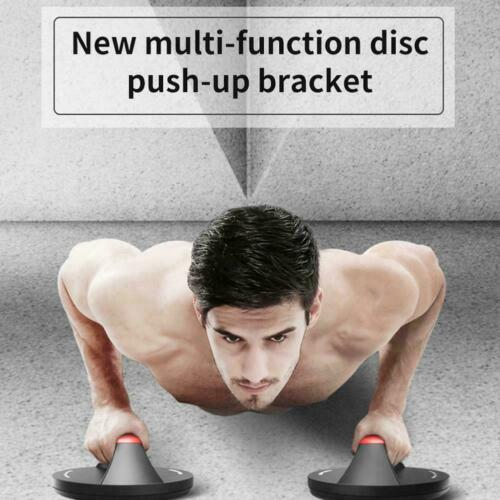 EVA Rotating Push Up Handles Fitness Workout Press Stands//Grips//Bars UK Up O9L6
