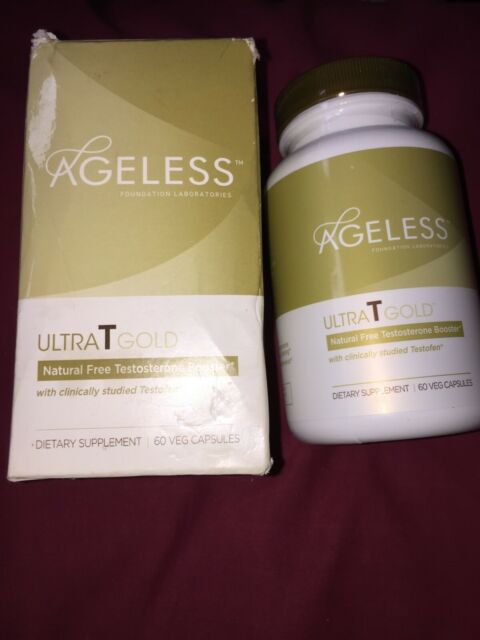 Ageless Foundation Ultra T Gold All-Natural Free Testosterone Booster 60 Caps eBay