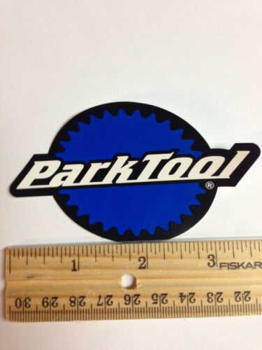 """3.75/"""" PARK TOOL BIKE Mountain Bicycle Road Tool Stand CAR RACK STICKER DECAL"""