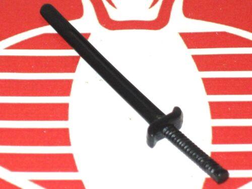 GI Joe Weapon Black Sword Original Figure Accessory #0312