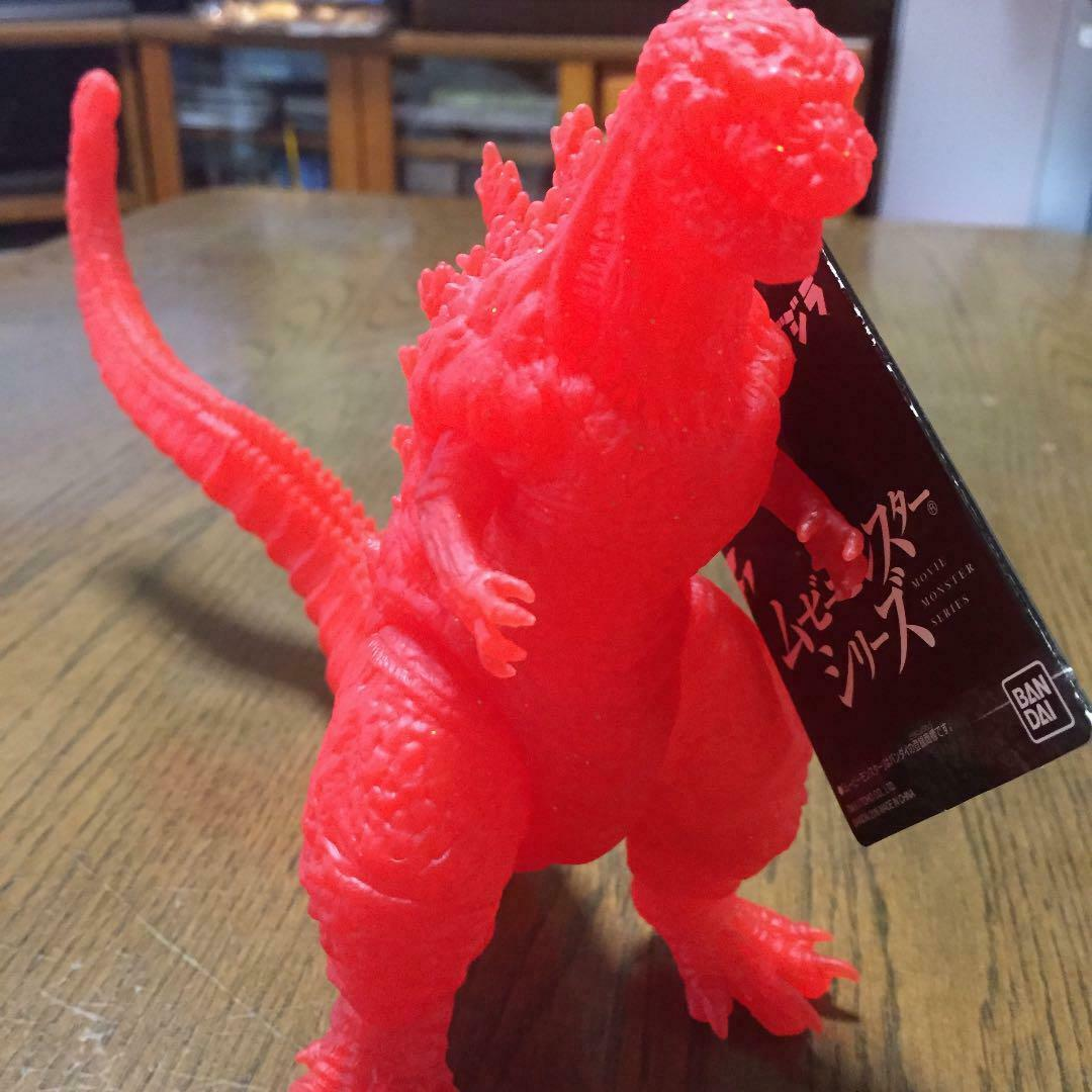 Shin Godzilla Resurgence Figure Clear Red Limited color Unused Rare From JAPAN