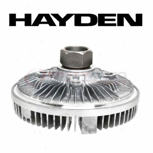 Hayden Engine Cooling Fan Clutch for 2006-2010 Hummer H3 Belts Motor  dx