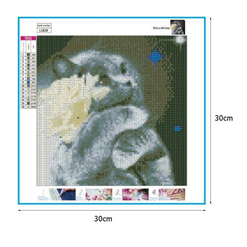 5D DIY Full Drill Diamond Painting Cat Cross Stitch Embroidery Mosaic Kit