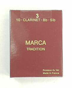 Anches-de-clarinette-Sib-Bb-MARCA-Tradition-boite-de-10-anches