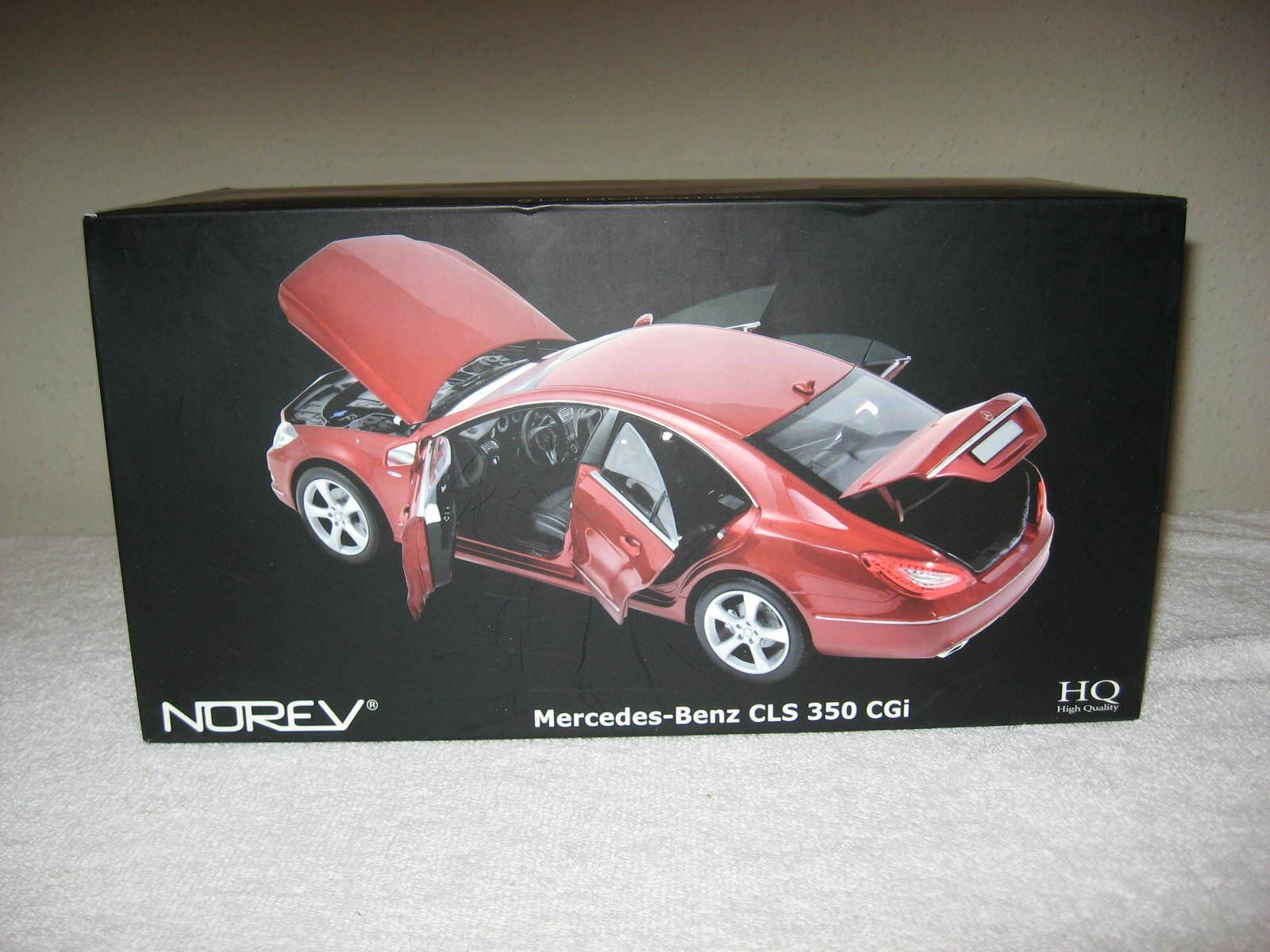 2010 Mercedes-Benz CLS 350 Norev 1 18 apertura capó, puertas y maletero, oficinas centrales, Excelente