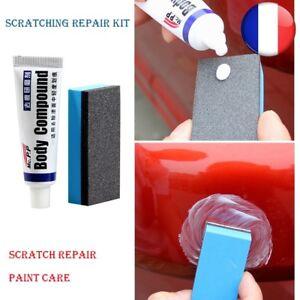 Kit-Repair-Voiture-Peinture-Defauts-Soins-Auto-Polissage-Enlever-Rayures-Eponge